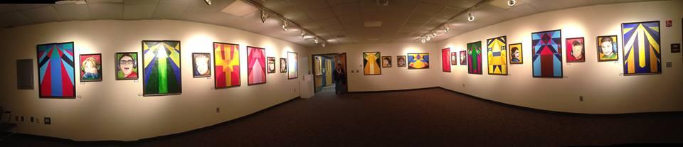 Flight1 Art Exhibit